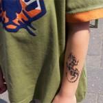 Kinder Airbrush Tattoos ist der Party Spass