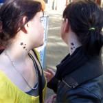 Kinder und Jugend Tattoos mit Airbrush