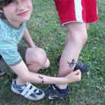Coole Spass Tattoos in Lebus