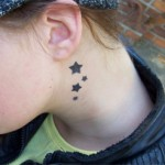 Jugend Airbrush Tattoos die ankommen