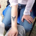 Kinder Tattoos die ankommen bei jedem Event