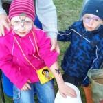 Kinder geschminkt mit Spass Tattoos