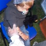 Unsere kleinsten Airbrush Fans