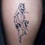 Airbrush Spass Tattoo