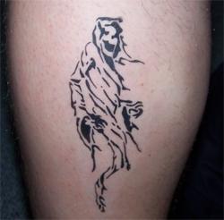 tattoo rippenbogen mann man dildo