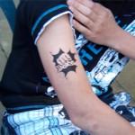 Spass Tattoos die ankommen