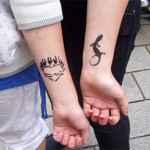 Airbrush Kinder Spass Tattoos