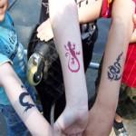 Alle wollen ein Airbrush Tattoo haben