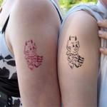 Mama hat auch ein Airbrush Tattoo