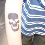 Airbrush Tattoos für Jungs