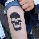 Airbrush Tattoos die bei den Jungs gut ankommen