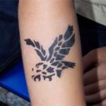 Adler als Airbrush