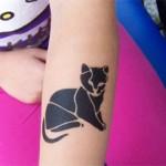 Airbrush Katzen Tattoo in Nauen