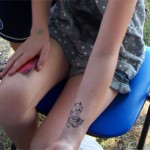 Airbrush Tattoo kommt teuflich gut an