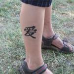 Airbursh sieht aus wie ein echtes Tattoo