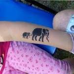 Elefanten als Airbrush