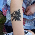 Elfen Airbrush Tattoo
