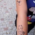 Gleich zwei Tattoos in Nauen