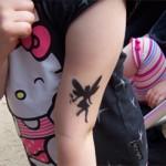 Jugend & Kinder Elfen Tattoo