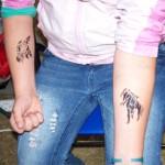 Kinder Airbrush Tattoo OT Lebus