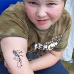 Kinder Airbrush in Schoenfliess
