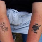 Kinder- & Jugend Airbrush Tattoo