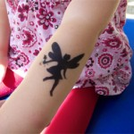 Kinder Tattoo Elfe