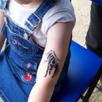 Kinder Tattoo Pferd