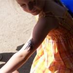 Kinder Tattoo Pferdchen