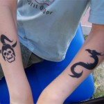 Kindergartenparty mit Spass Tattoos
