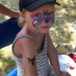 Kinderschminken und Airbrush Tattoos als Kombination