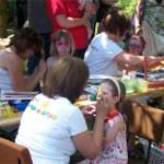 Tolle Motive beim Kinderschminken in Bochow
