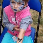 Kinderschminken mit Airbrush Tattoos