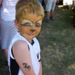 Kinderschminken und Airbrush Tattoos