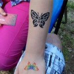 Schmetterling als Tattoos