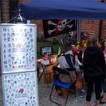 Spass Tattoos beim Ackerbuergerfest in Nauen