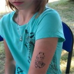 Spass Tattoos fuer Kids