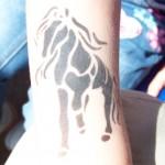 Airbrush Pferd