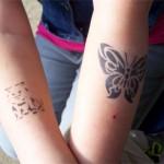 Airbrush Spass Tattoos die ankommen