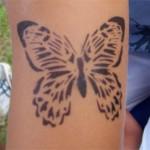 Schmetterling Airbrush in Zabeltitz