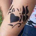 Schmetterling Tattoo in Zabeltitz
