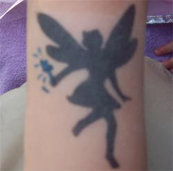 Elfen Airbrush Tattoo