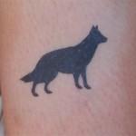 Hunde Tattoo