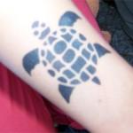 Airbrush Schildkröte