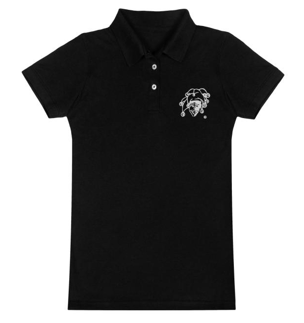 Poloshirt-Damen_black