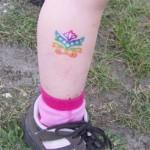 Familienfest in Hoppegarten mit Abziehbilder Tattoos