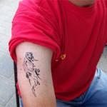 Airbrush Tattoo auch fuer Erwachsene