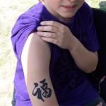Familienfest mit Kinder Airbrush Tattoos aus Berlin