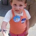 Kinder hatten Spass mit Tattoos