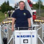 Die Freiwilligen Feuerwehr beim Familienfest